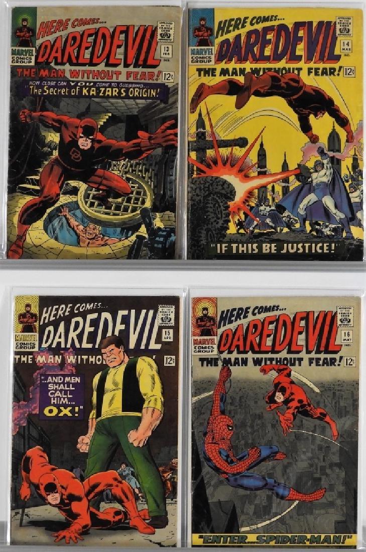 16PC Marvel Comics Daredevil #2-#16 Complete Run - 5