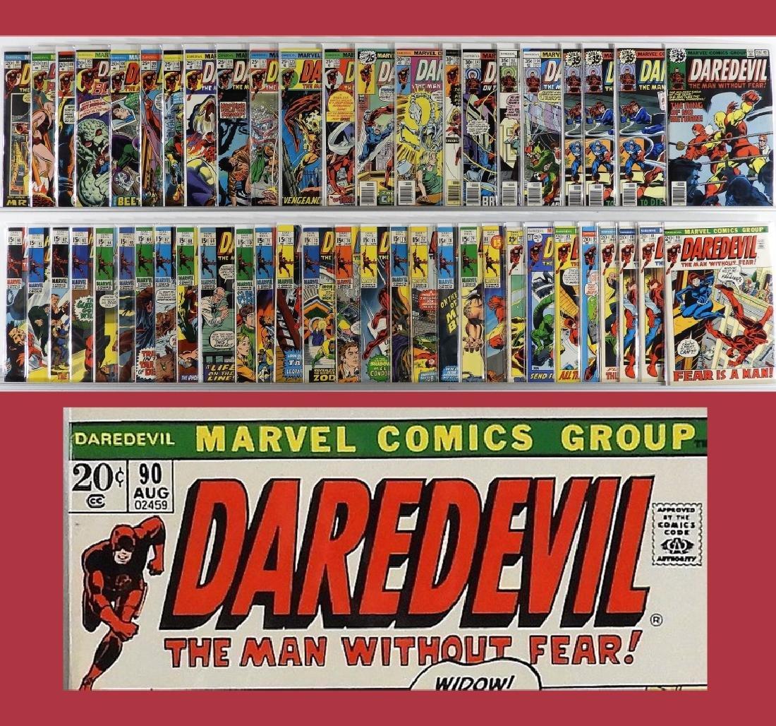 51PC Marvel Comics Daredevil #60-#156 Part. Run