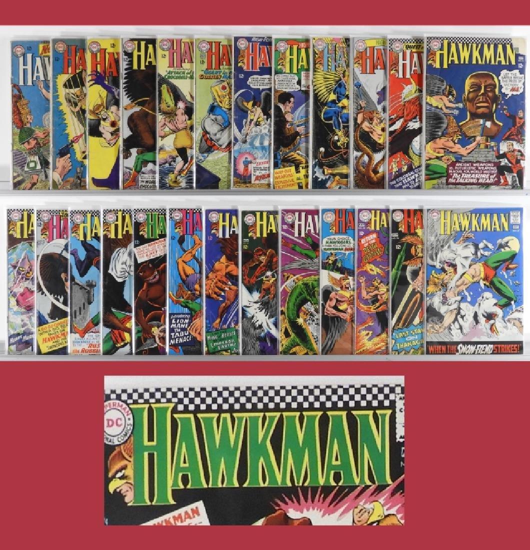 25PC DC Comics Hawkman #1-#27 Near Complete Run