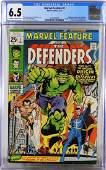 Marvel Comics Marvel Feature 1 CGC 65