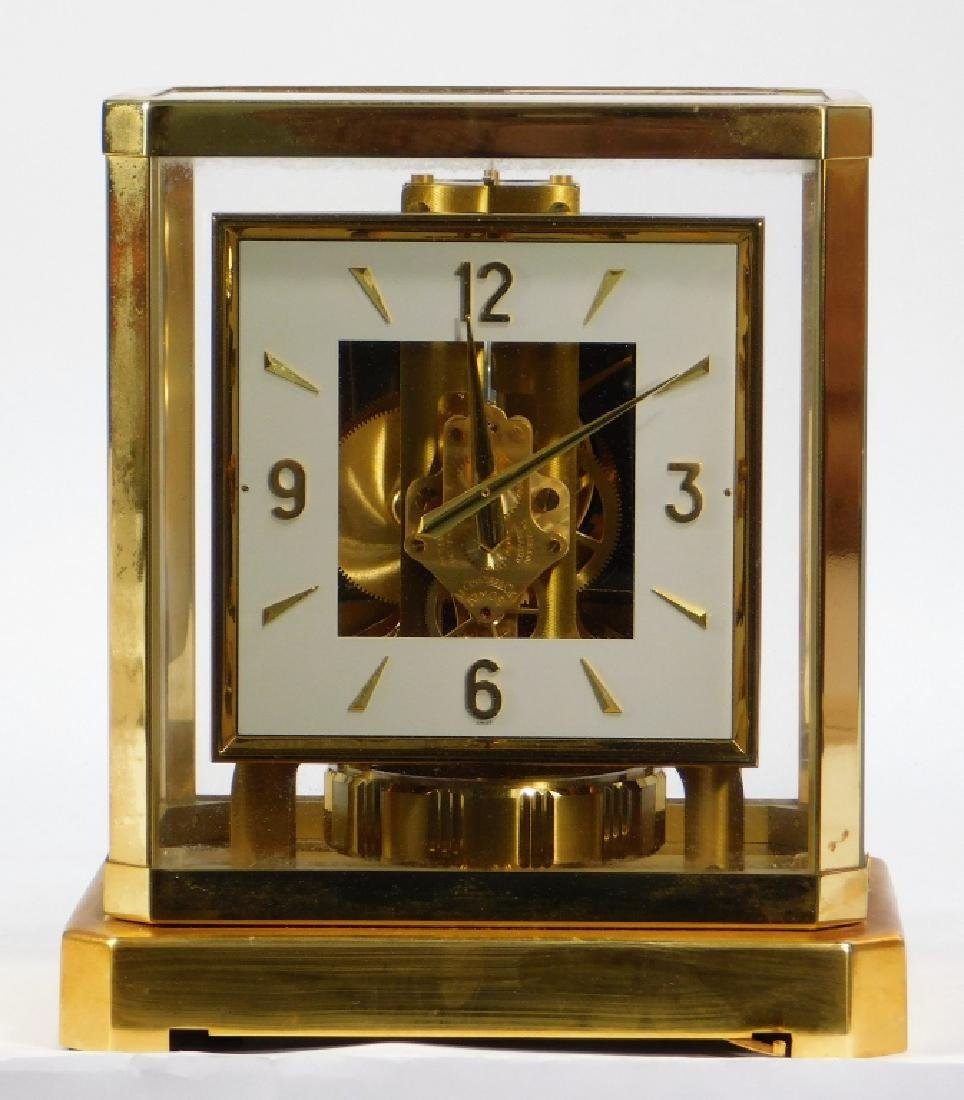 20C Swiss Jaegar LeCoultre Model 528-6 Atmos Clock