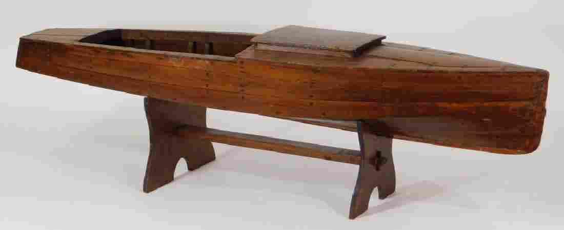 Vintage Chris-Craft Wood Boat Pond Ship Boat Model