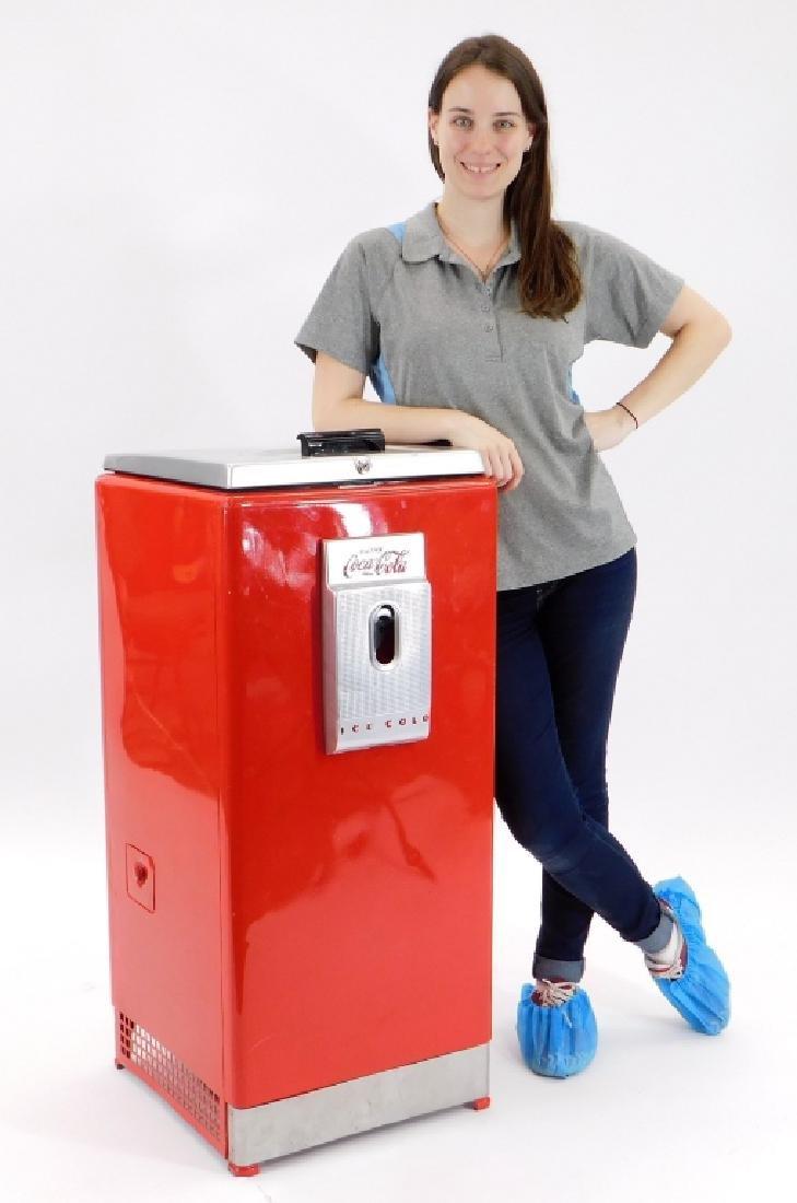 Vintage Cavalier Coca-Cola Red Cooler Machine