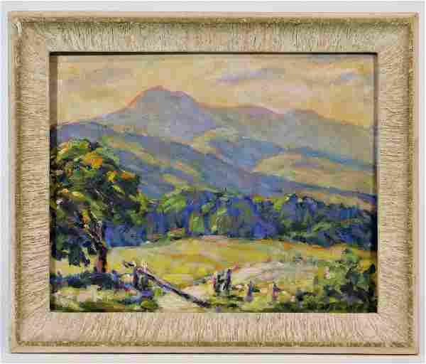 Marion Howard Mt. Chocorua Plein Air Landscape