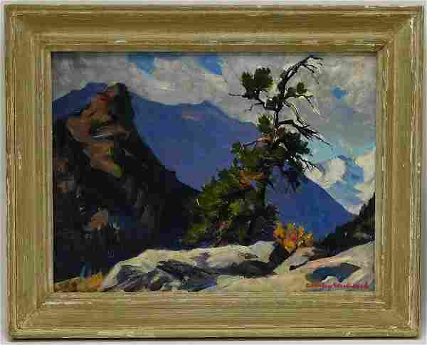 Stanley Woodward Plein Air New Hampshire Painting