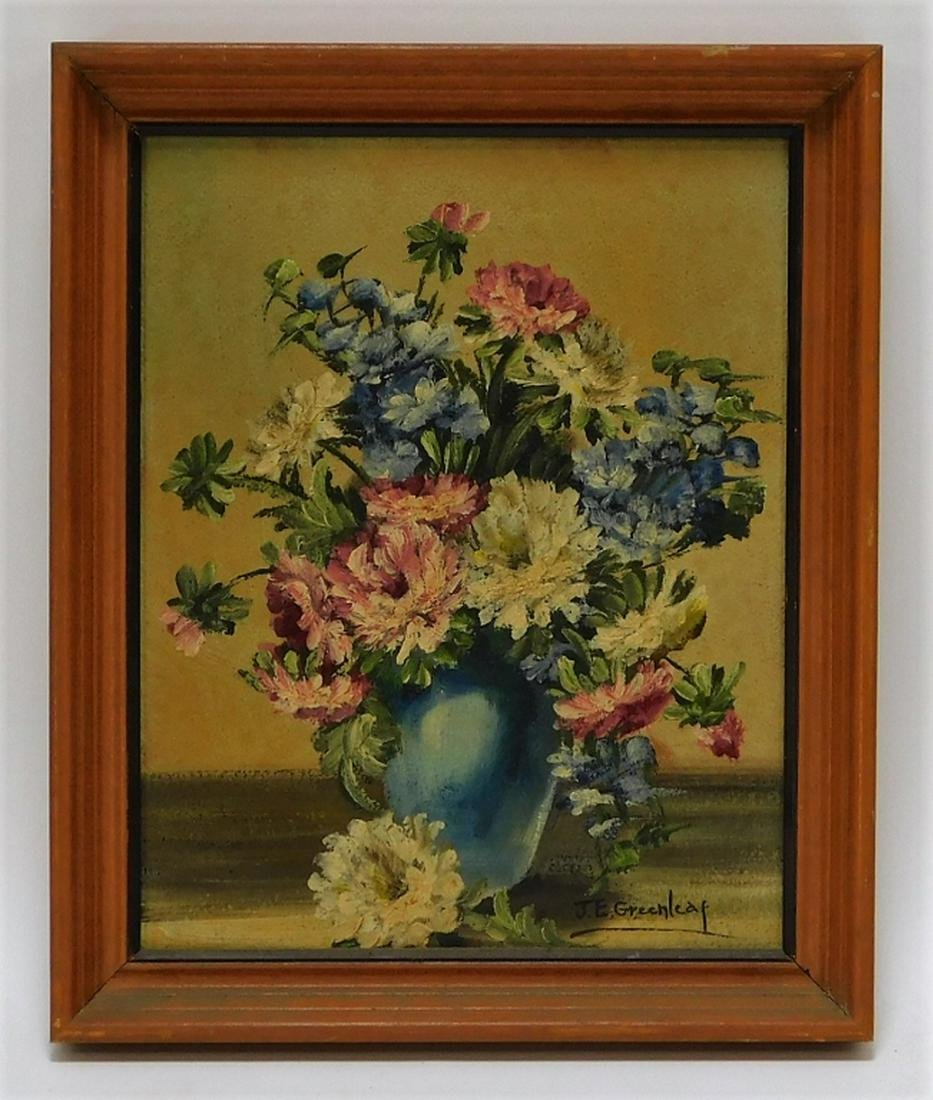 Janet Greenleaf Realist Floral Still Life Painting