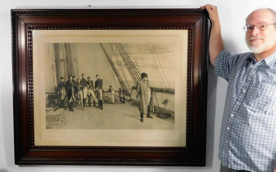 Louis John Steele Napoleonic Maritime Engraving