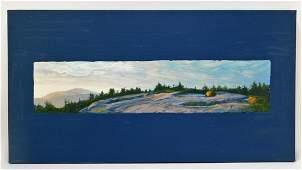 Conley Harris Twilight Mountain Landsacpe Painting