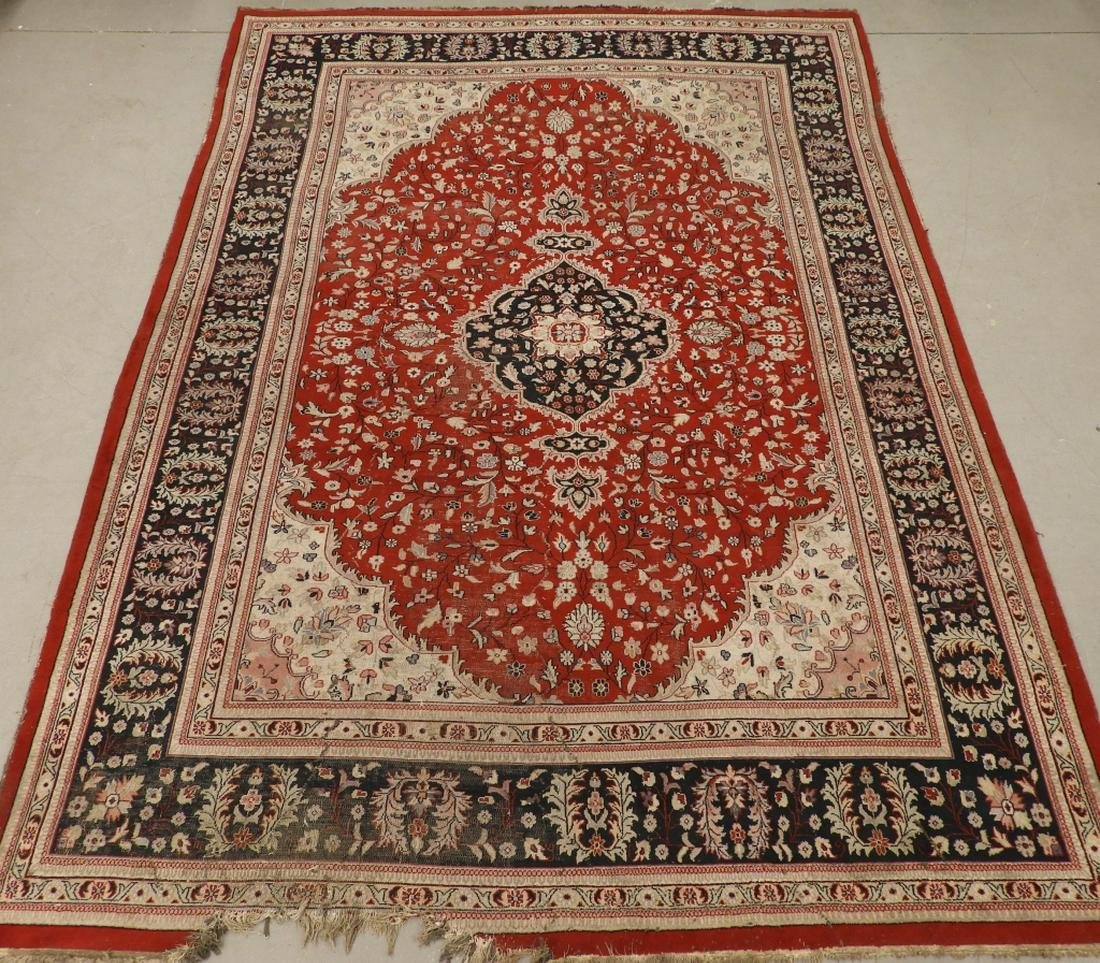 Persian Oriental Wool Room Size Carpet Rug