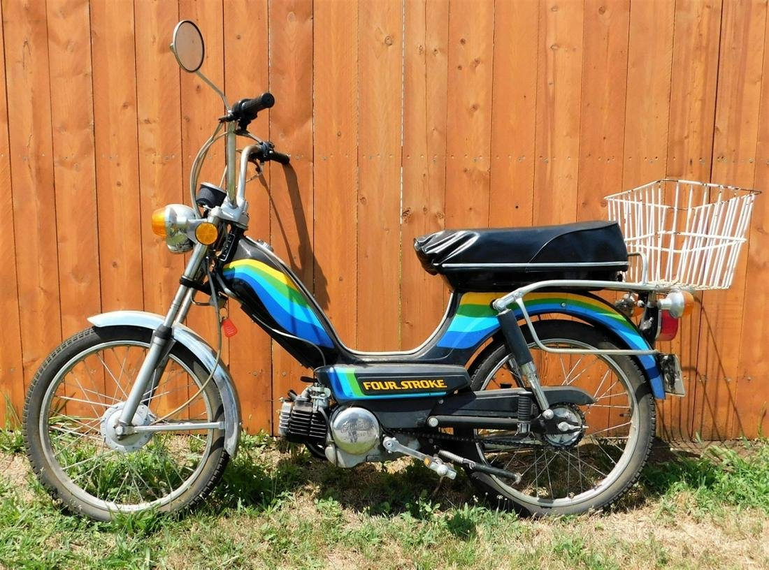 Vintage Indian AMI-50 Four Stroke American Moped