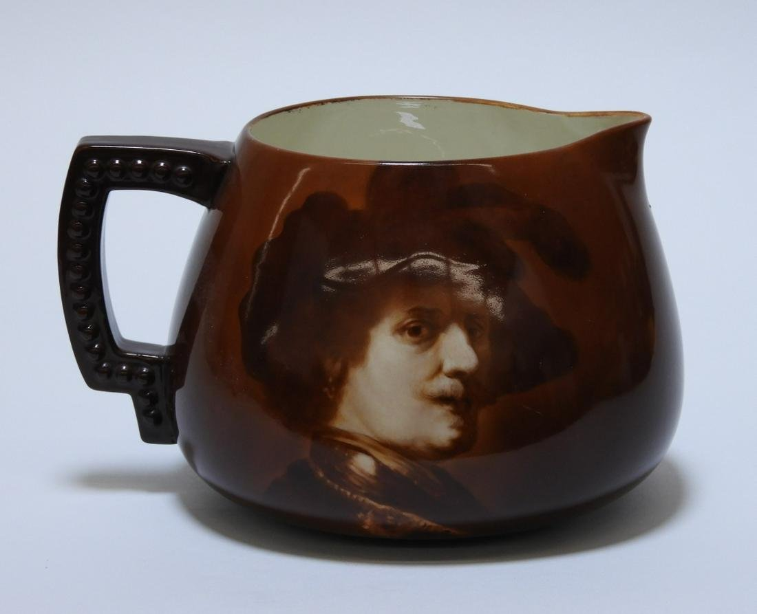 American Belleek Rembrandt Lemonade Pitcher