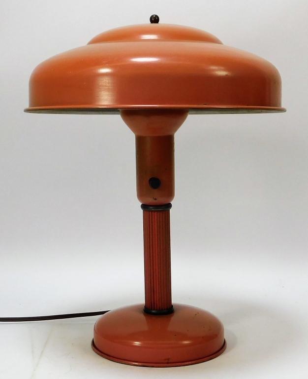 C.1955 Sight Light Corp. Modernist Saucer Lamp