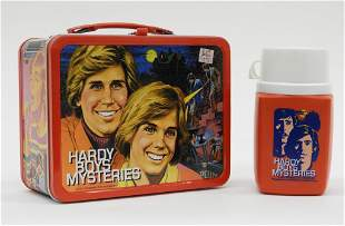 KingSeeley Hardy Boys Mysteries Lunch Box Thermos