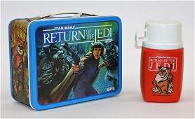 1983 KingSeeley Star Wars ROTJ Lunch Box Thermos