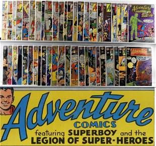 46PC DC Adventure Comics 300380 Partial Run