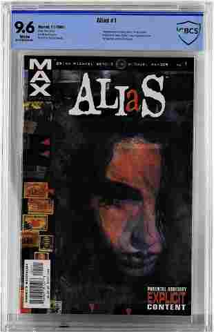Marvel Comics Alias 1 CBCS 96