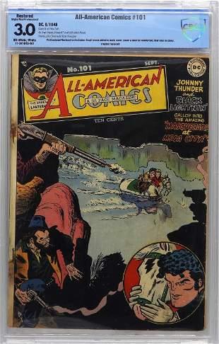 DC Comics AllAmerican Comics 101 CBCS 30