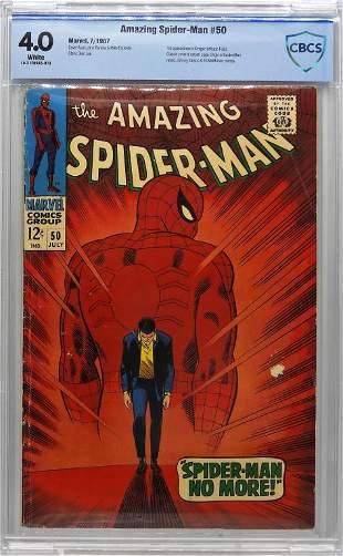 Marvel Comics Amazing SpiderMan 50 CBCS 40
