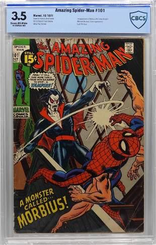 Marvel Comics Amazing SpiderMan 101 CBCS 35