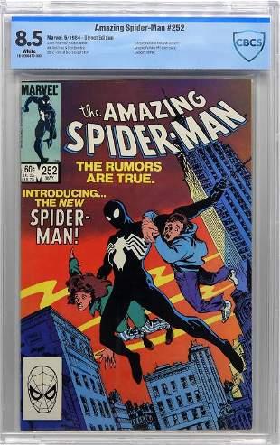 Marvel Comics Amazing SpiderMan 252 CBCS 85