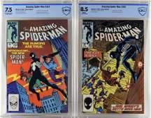 Marvel Comics Amazing Spider-Man #252 #265 CBCS