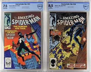 Marvel Comics Amazing SpiderMan 252 265 CBCS