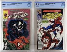 Marvel Comics Amazing Spider-Man #316 #361 CBCS