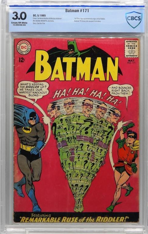 DC Comics Batman #171 CBCS 3.0