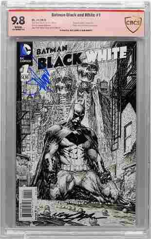 DC Batman Black and White 1 CBCS 98 Adams Murphy
