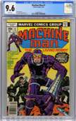 Marvel Comics Machine Man #1 CGC 9.6
