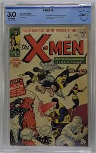 Marvel Comic X-Men #1 CBCS 3.0