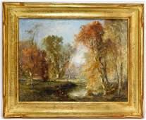 Douglas Arthur Teed Autumn Landscape OC Painting