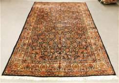 LG Antique Persian Floral Field Carpet Rug