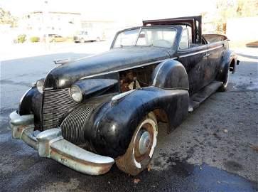 1939 Cadillac Series 75 Convertible V8 Sedan