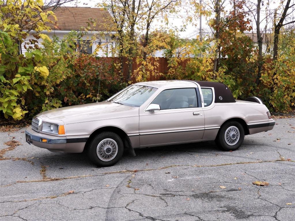 1986 Mercury Cougar 75K Miles Original Owner Car