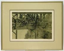 Peter Milton The Jolly Corner Realist Etching