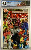 Marvel Comics Avengers 181 CGC 98 Avengers Label