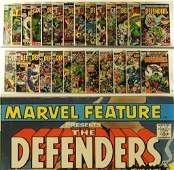 26PC Marvel Comics Marvel Feature Defenders Group
