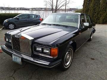 1985 Rolls Royce Silver Spirit 35K Miles