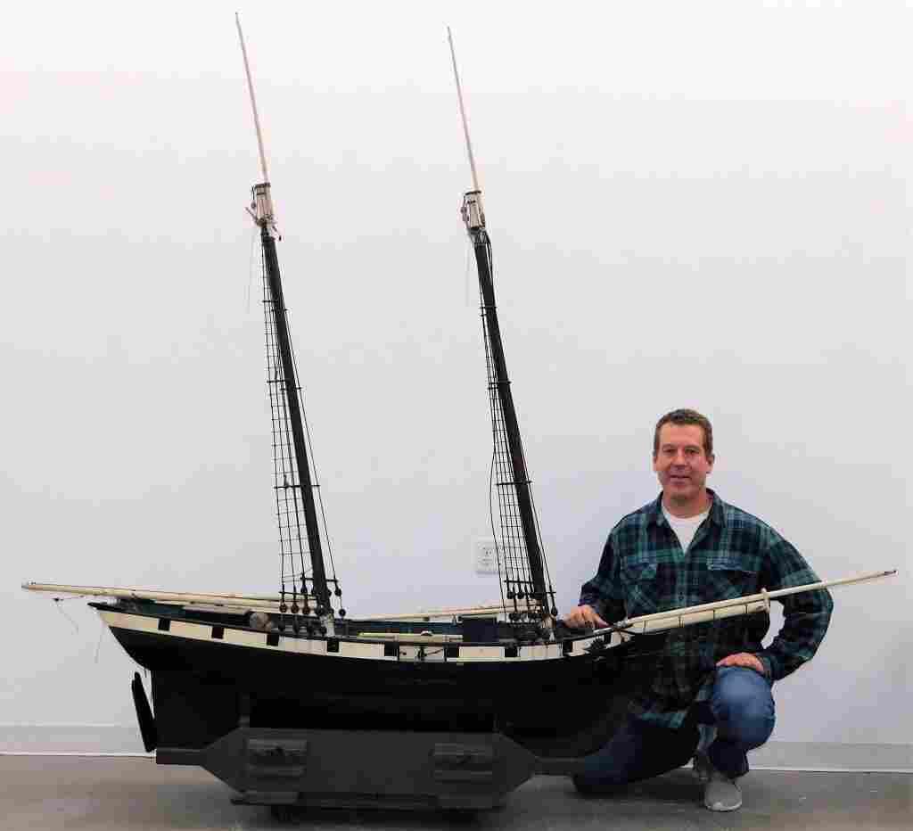 LG American Maritime Colonial Sailing Ship Model