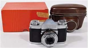 Zeiss Ikon Contaflex I Camera Tessar 45mm f28