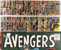 41PC Marvel Comics Avengers #13-#56 Near Run