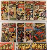 10PC Marvel Comics Avengers Daredevil ASM Group