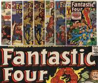 7PC Marvel Comics Fantastic Four 44100 Group