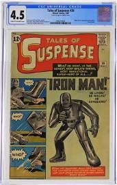 Marvel Comics Tales of Suspense #39 CGC 4.5