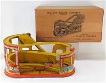 J Chein  Co No 275 Roller Coaster Tin Litho Toy