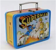 1954 Universal D.C. Comics Superman Tin Lunchbox