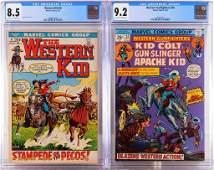 2PC Marvel Comics Western Bronze Age CGC Group
