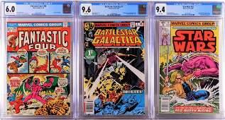 3PC Marvel Comics Bronze Age CGC Group