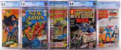 5PC DC Comics Silver Bronze Age CGC CBCS Group